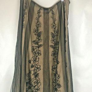 Adrianna Papell Boutique Women's Beige Skirt Sz6